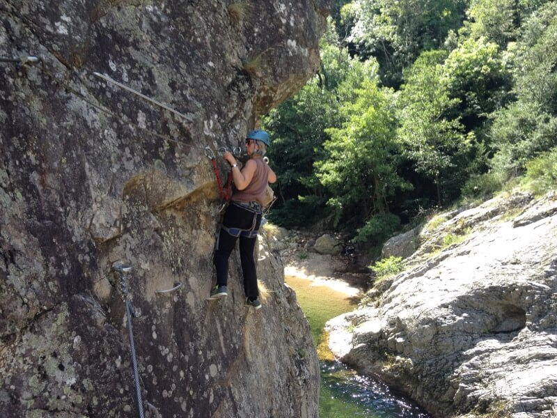 via ferrata privas 17 ardeche