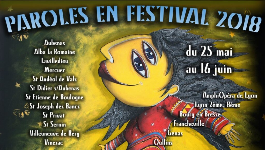 Paroles en festival 2018-Aubenas-