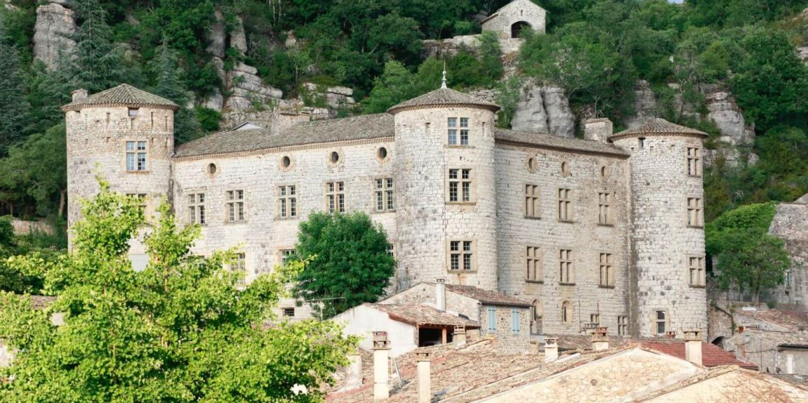 Le château de Voguë