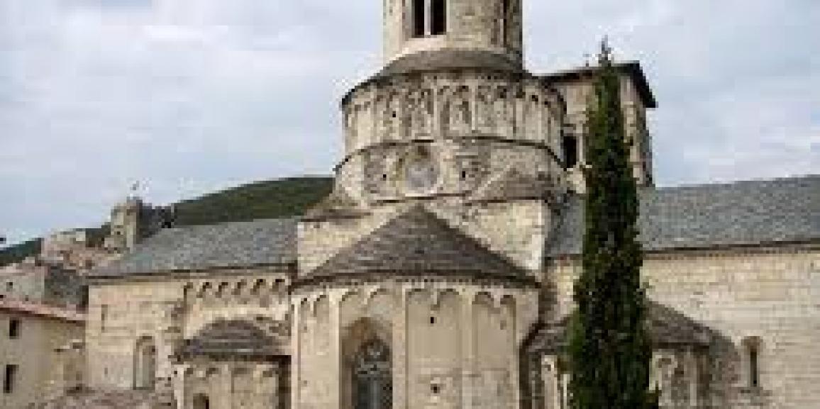 L'Abbaye Sainte-Marie de Cruas